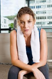 sweatywomanexercise